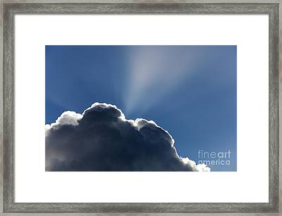 Sun Rays Framed Print