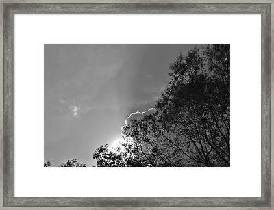 Sun Rays Framed Print by Thomas  MacPherson Jr