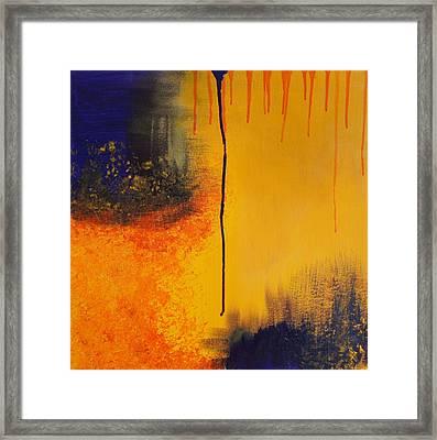Sun Rising Framed Print