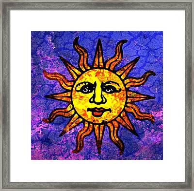 sun salutation paintingally white