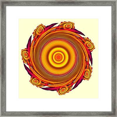 Sun Salutation Framed Print by Anastasiya Malakhova