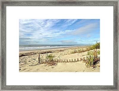 Sun Sand Sea Framed Print