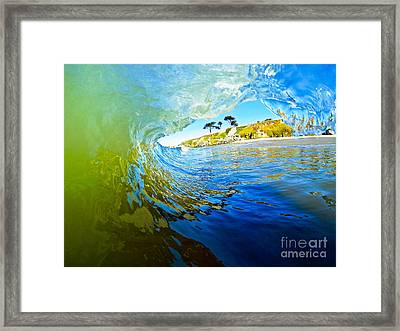 Framed Print featuring the photograph Sun Shade by Paul Topp