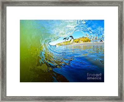 Sun Shade Framed Print by Paul Topp