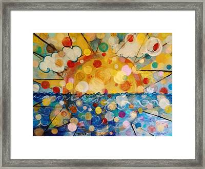 Sun Shine #1 Framed Print by Melinda Jones