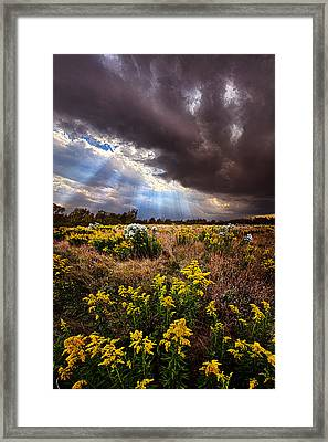 Sun Showers Framed Print by Phil Koch