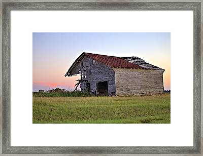 Sun Slowly Sets Framed Print by Gordon Elwell