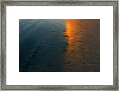 Sun Soaked Beach Framed Print by Heidi Smith