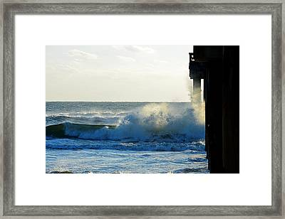 Framed Print featuring the photograph Sun Splash by Anthony Baatz