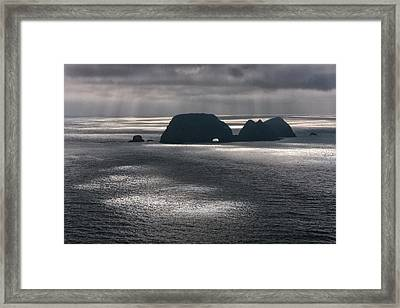 Sun Spots Framed Print by Jim Young