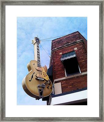 Sun Studio Entrance Framed Print by Suzanne Barber
