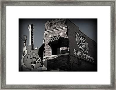 Sun Studio - Memphis Framed Print by Stephen Stookey