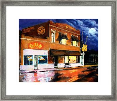 Sun Studio - Night Framed Print by Robert Reeves