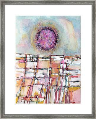 Sun And City Framed Print by Hari Thomas