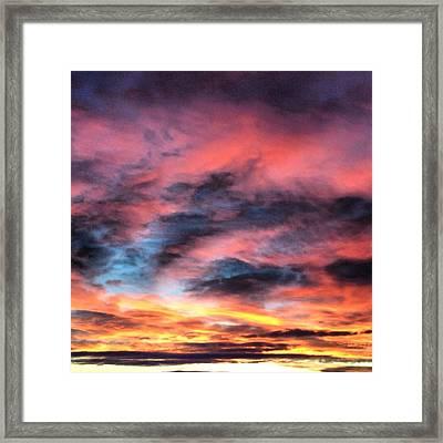 Sun Swirl  Framed Print by Jake Harral