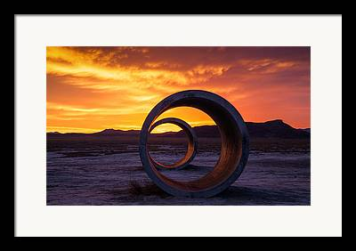 Circle Photographs Framed Prints