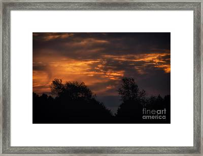 Sun Up Framed Print by Thomas Woolworth
