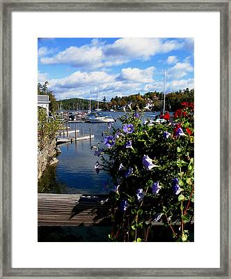 Sunapee Harbor 1 Framed Print by Will Boutin Photos