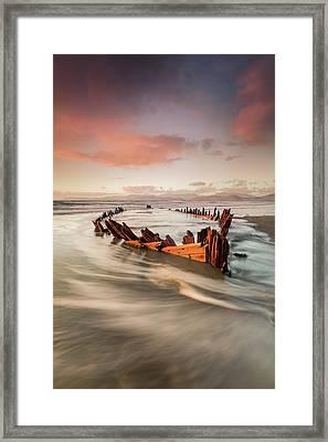 Sunbeam Framed Print by Marek Biegalski
