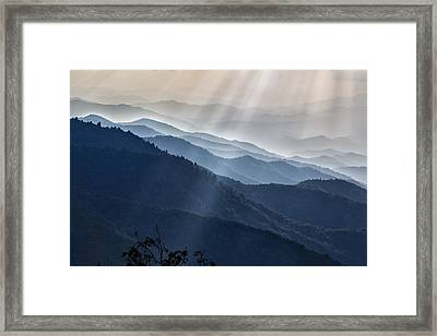 Sunbeams 01 Framed Print