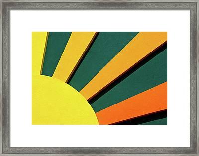 Sunbeams Framed Print by Christi Kraft