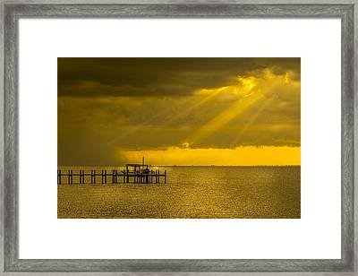 Sunbeams Of Hope Framed Print