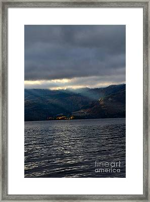 Sunbeams On The Mission  Framed Print by Phil Dionne