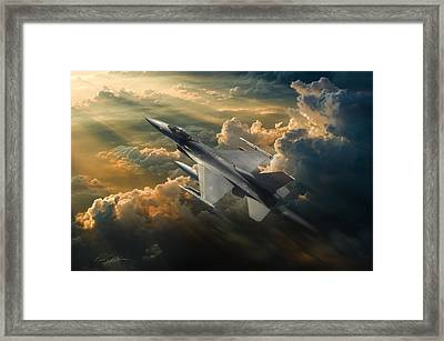 Sunbird Framed Print by Peter Chilelli