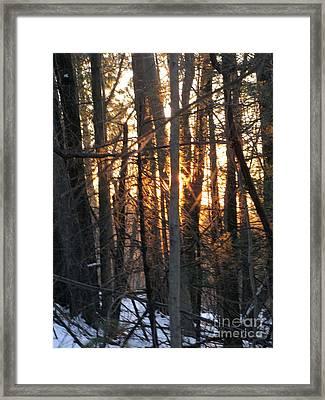 Sunblaze-1 Framed Print