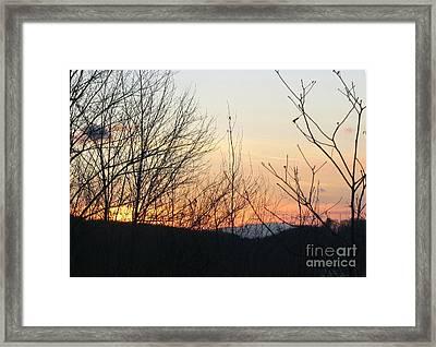 Sunblaze-5 Framed Print