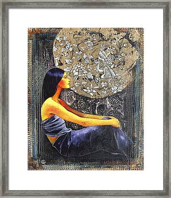 Sunborn Framed Print by CIRAUD MOTTE Catherine