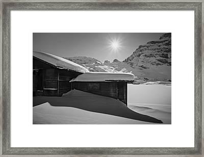 Framed Print featuring the photograph Sunburst by Antonio Jorge Nunes