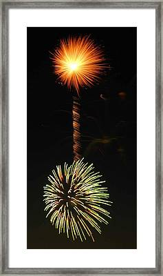 Sunburst Framed Print by Optical Playground By MP Ray