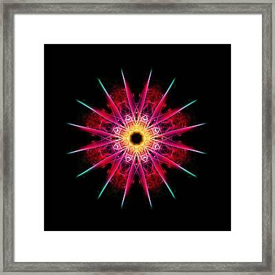 Sunburst Framed Print by Steve Purnell