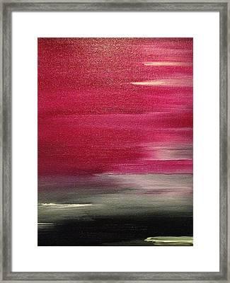 Sundae Ox-bloody Sundae Framed Print by Christopher Toro