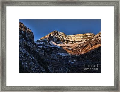 Sundance Aspen-first Light V5 Framed Print by Douglas Barnard