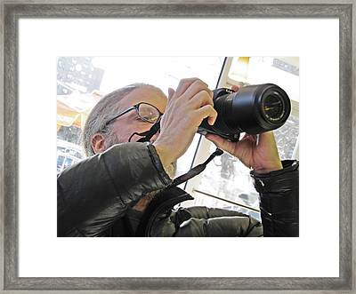 Sunday Afternoon At Dunkin Donuts 14 Framed Print by Sarah Loft