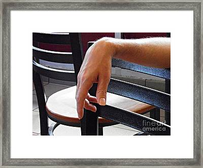 Sunday Afternoon At Dunkin Donuts 3 Framed Print by Sarah Loft