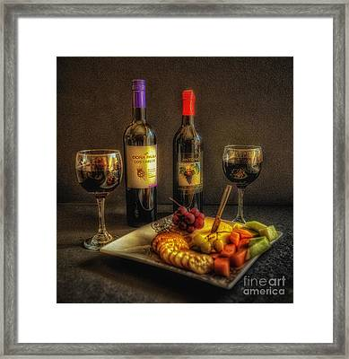 Sunday Afternoon Delight Framed Print by Arnie Goldstein