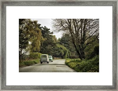 Sunday Afternoon Drivers Framed Print