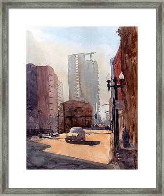 Sunday Afternoon Framed Print by Max Good