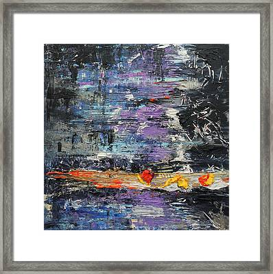 Sunday Blues Framed Print by Lucy Matta - LuLu