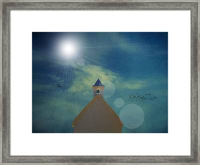 Sunday Church Service Framed Print by Dan Sproul
