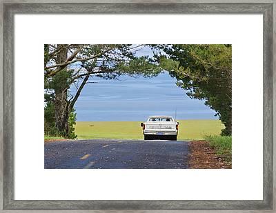 Sunday Drive Framed Print