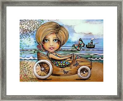 Sunday Drive Framed Print