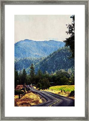 Sunday Drive Framed Print by Melanie Lankford Photography