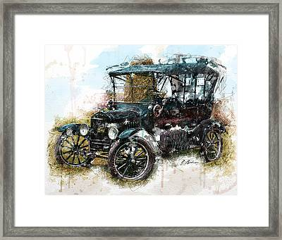 Sunday Driver Framed Print by Gary Bodnar