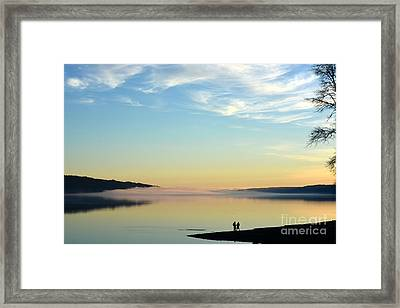 Sunday Evening Solitude Framed Print