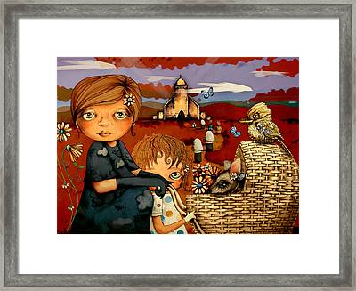 Sunday Framed Print by Karin Taylor