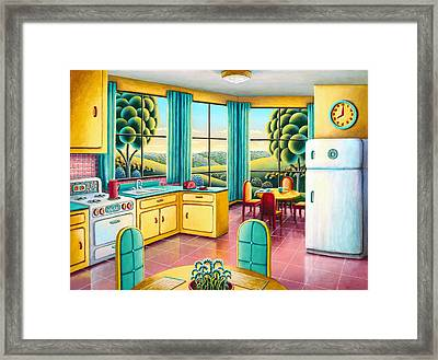 Sunday Morning Framed Print by Andy Russell